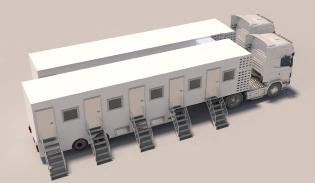 Mobile COVID-19 Sampling Unit