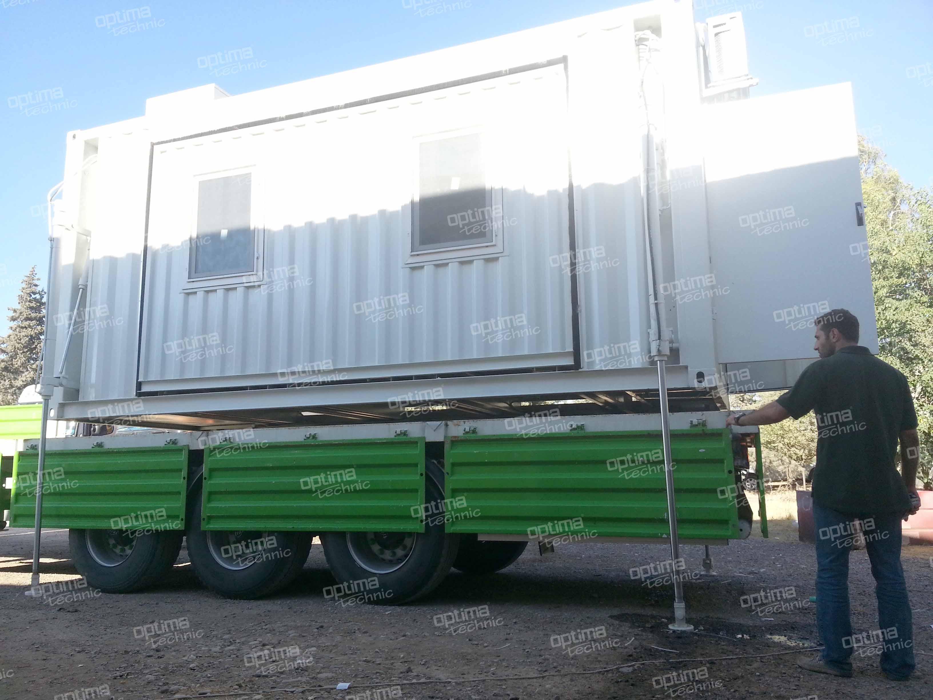 Auto Lift Container