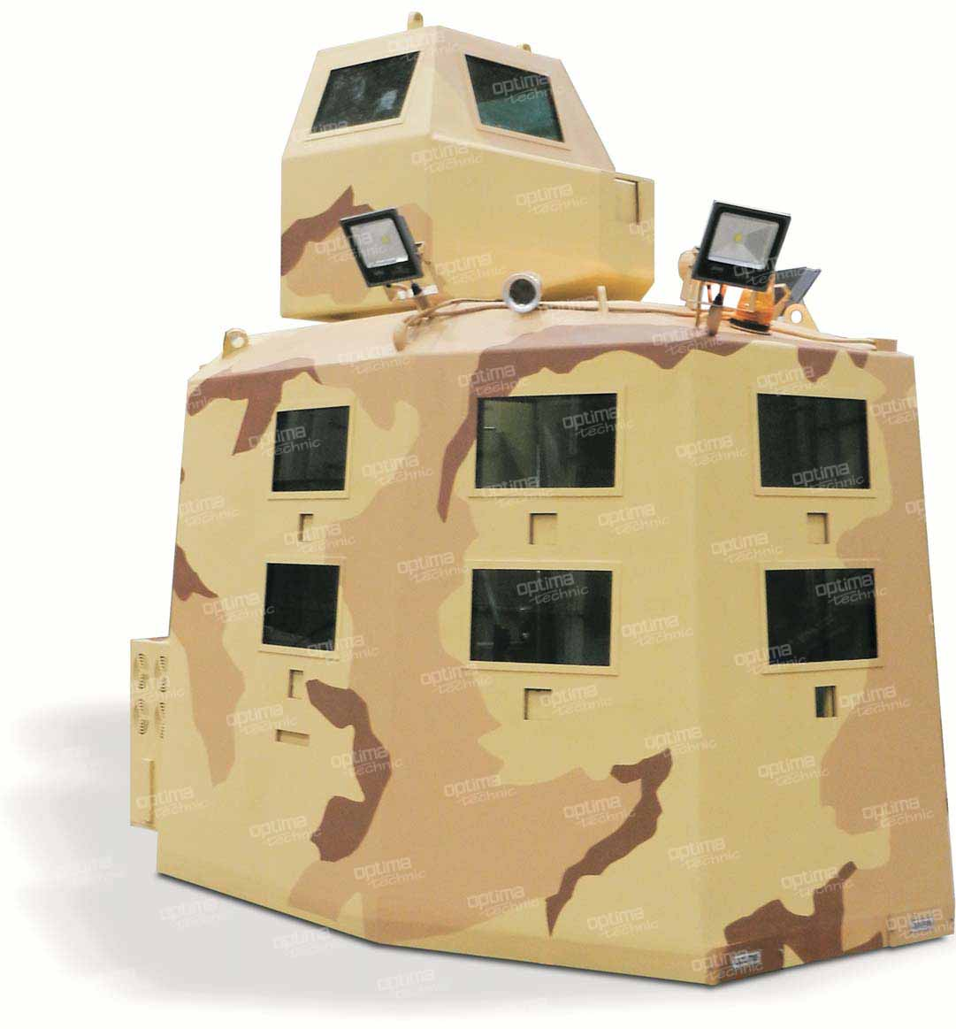 Mobile Armored Guard House