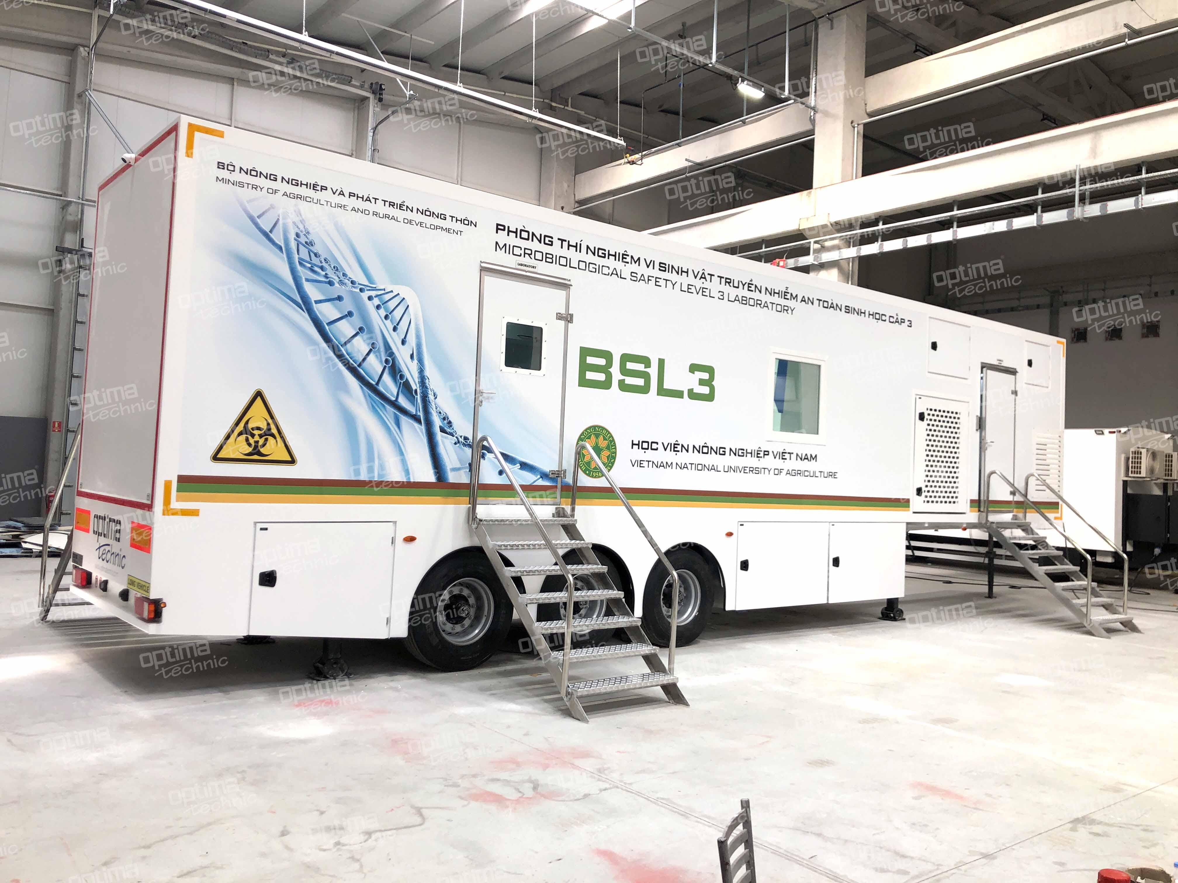 BSL3 Laboratory