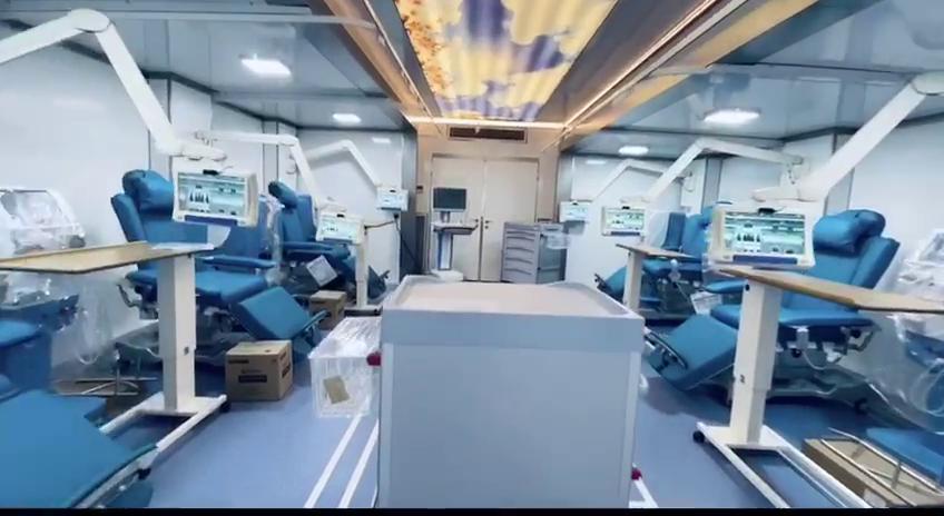 Mobile Dialysis Trailer