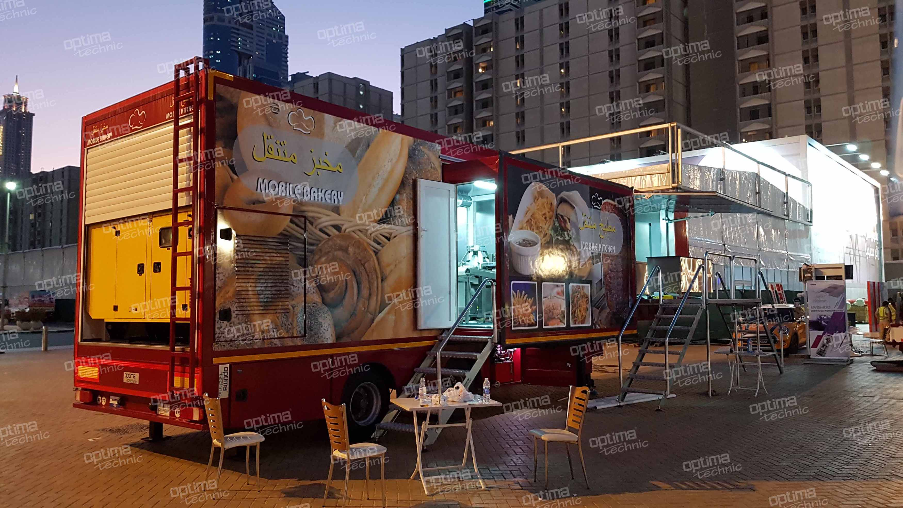 Mobile Kitchen & Bakery