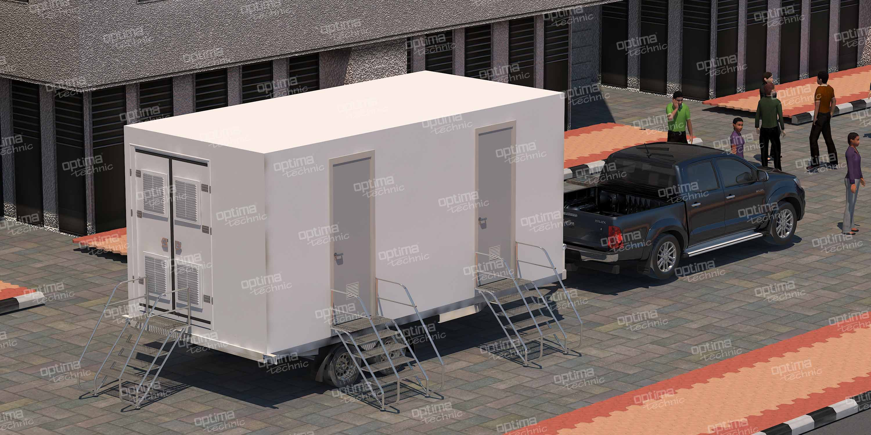 Mobile Toilet (WC) & Shower