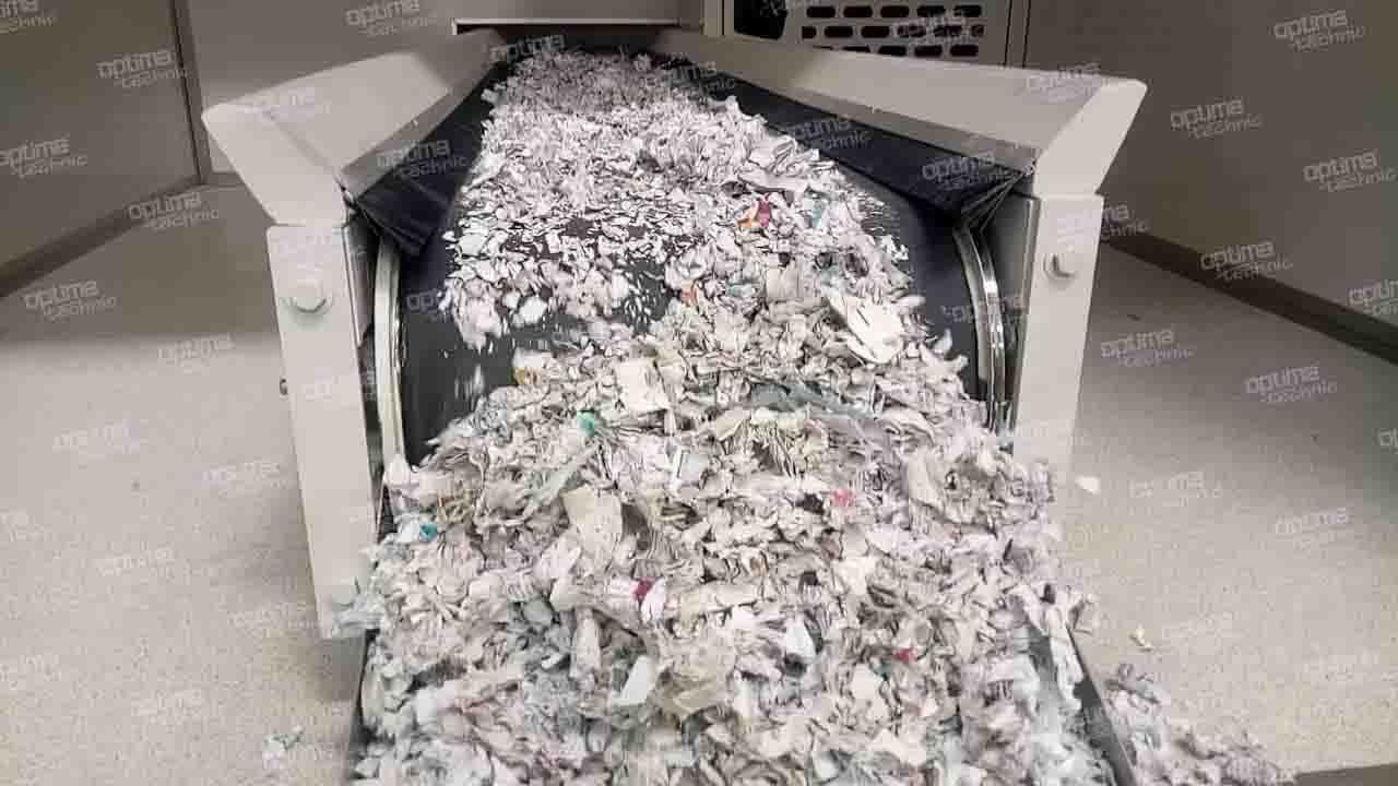 Mobile Secure Paper Shredder