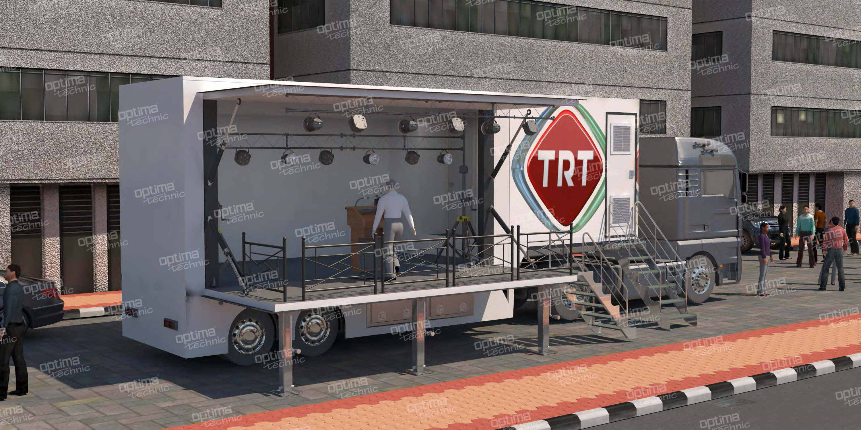 Mobile Broadcast Vehicle