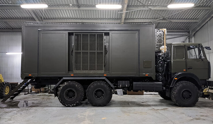 Military Surgery Truck