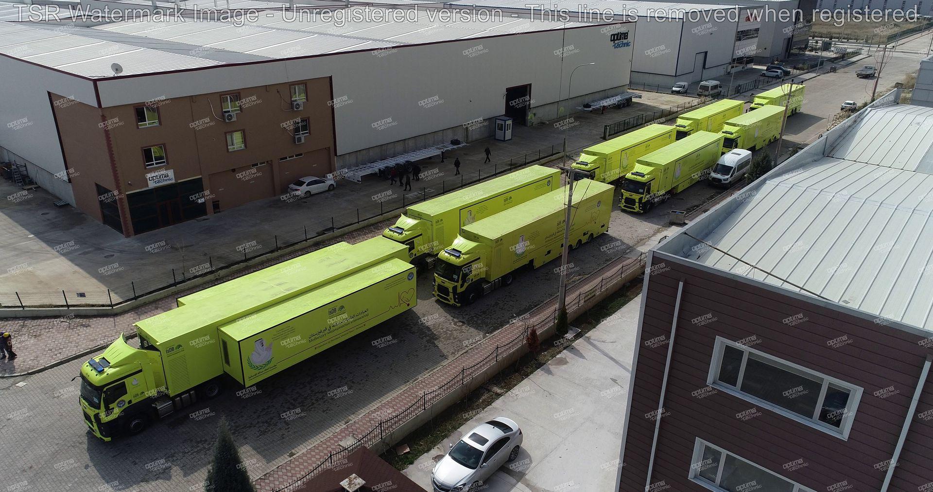 Trailer Based Field Hospitals