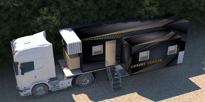 Mobile Luxury Trailer