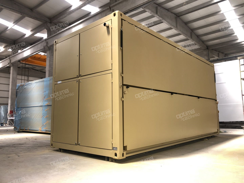 Mobile Military Kitchen